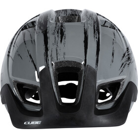 Cube CMPT Helmet Youth grey grunge